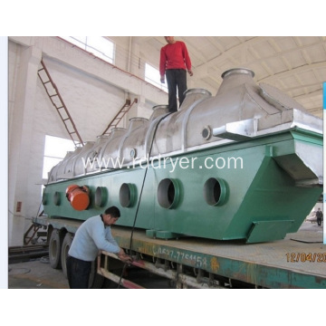 Horizontal Vibrating Fluid Bed Dryer for Drying Boric Acid